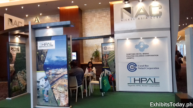 Nickel Asia Corp. Exhibit Booth