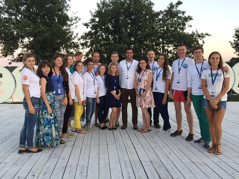 Youth Envoy Visits Russia and Attends Terra Scientia Youth Forum in Klyazma