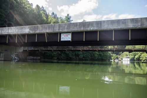 Lake Summit bridges - 2