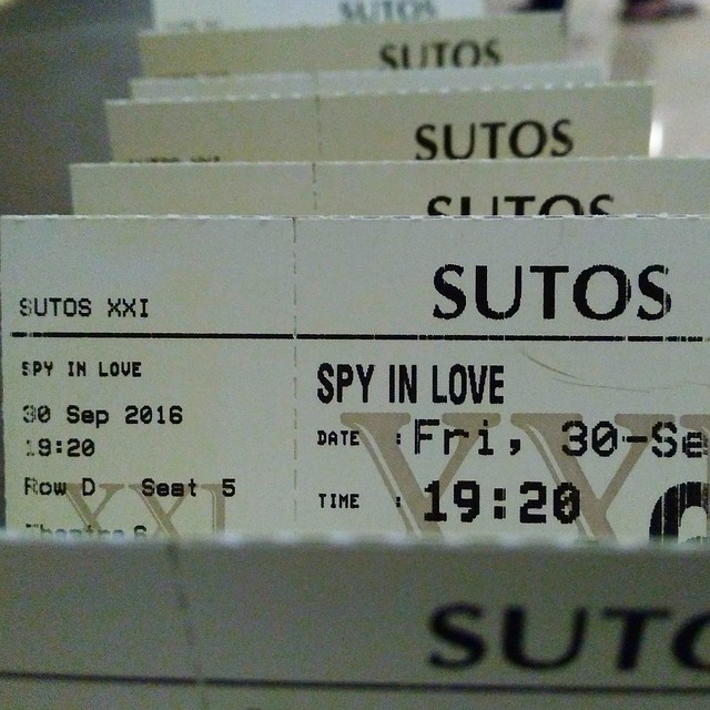 Review Film, Spy In Love