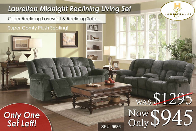 Laurelton Reclining Set One Left