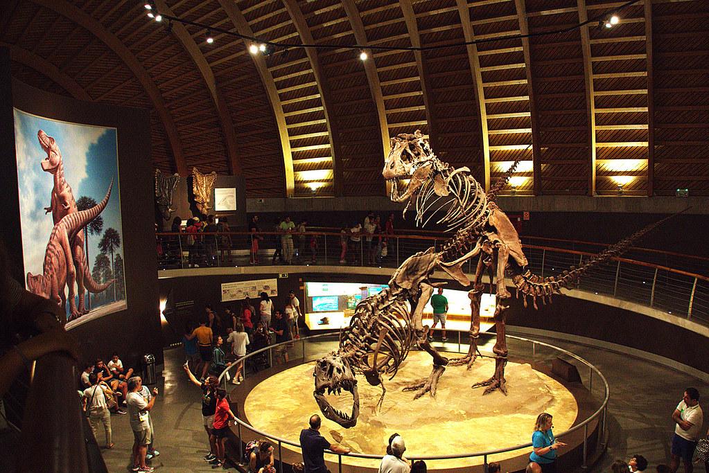En el Museo del Jurásico de Asturias