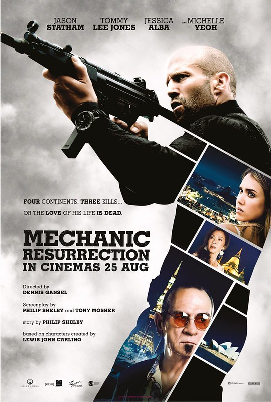 Mechanic - Resurrection - Poster 1