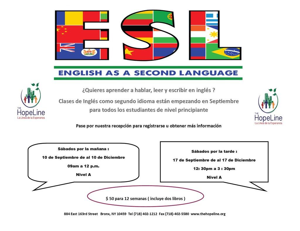 esl spanish flyer