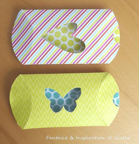 Pillowbox mit Durchblick
