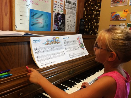 Addison Piano Student (October 12 2015)