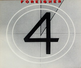 "FOREIGNER 4 FOUR 12"" LP VINYL"