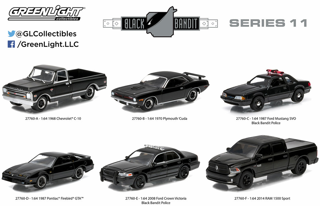 black bandit    greenlight collectibles