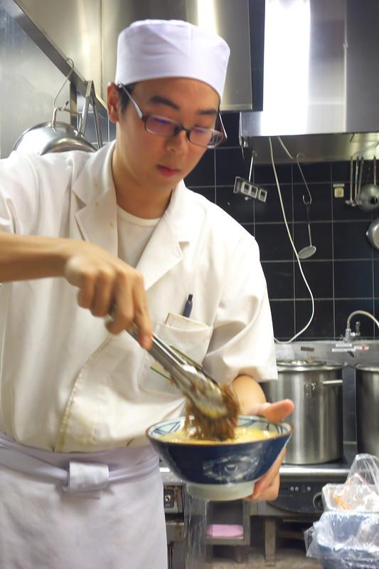 11月2日(水)発売開始 肉たまあんかけ 丸亀製麺試食部