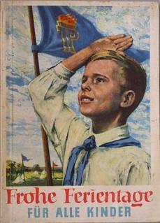 Poster di propaganda della Germania dell'Est