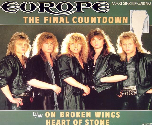 Detailed Description: EUROPE FINAL COUNTDOWN extended version LP