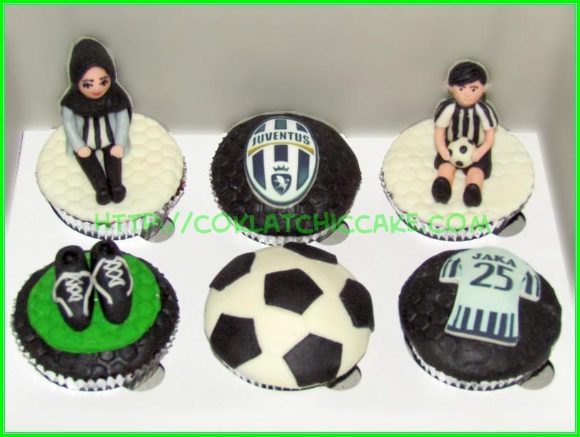 Cupcake set juventus