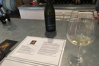 Joseph Jewell Winery - Wine tasting menu