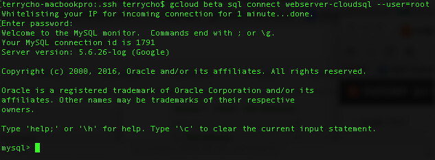 Connect MySQL