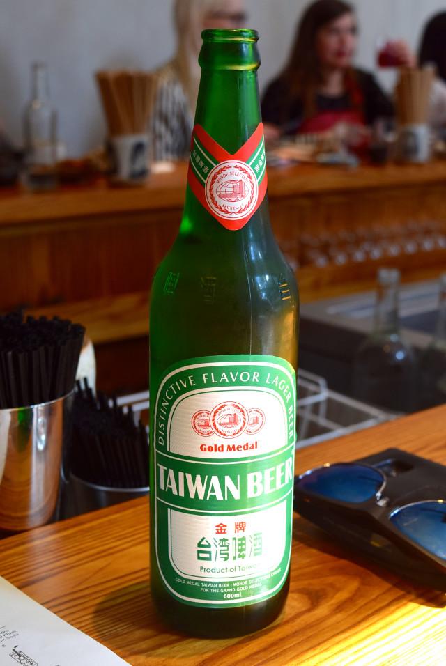 Taiwan Beer at Bao, Fitzrovia | www.rachelphipps.com @rachelphipps