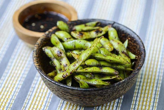 Sweet & Spicy Edamame