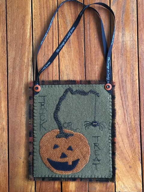 Great Pumpkin Treat Bag