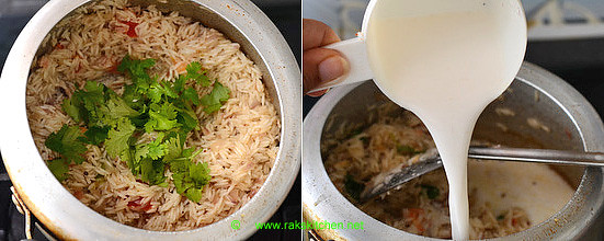 Thengai paal sadam recipe 6