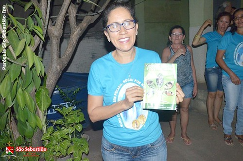 Encontro de Cenáculos no Bairro Populares e Boa Vista
