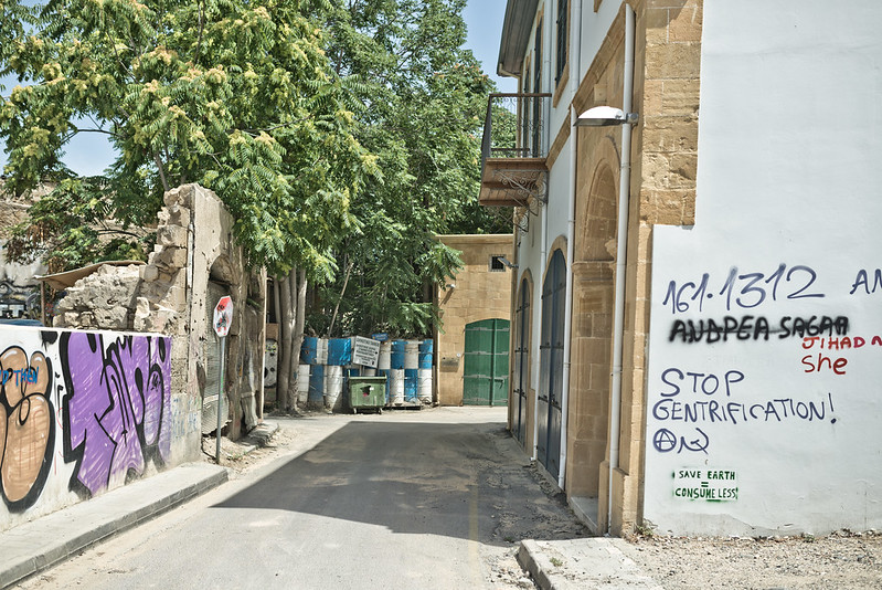 The Green Line in Nicosia (Cyprus)