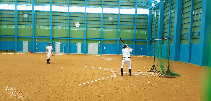 Kakunodate Senior High School akita baseball training