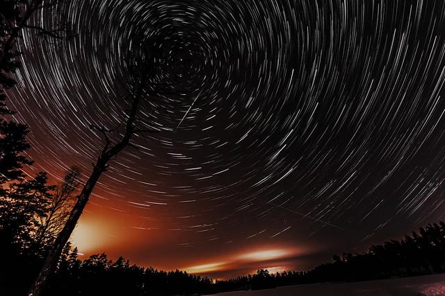 Star Trails Feb 2015