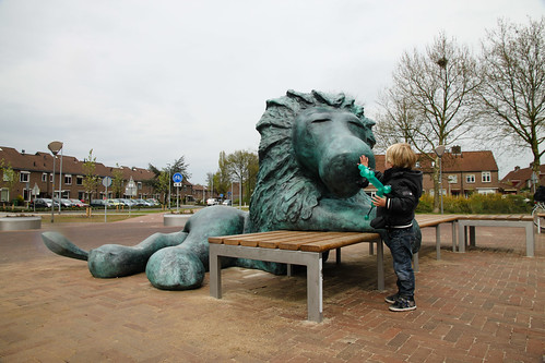2016 Mama ik zie een leeuw