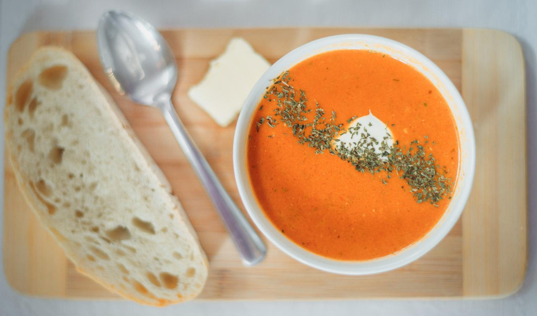Root veggie soup
