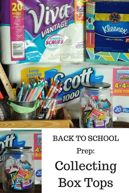 BACK TO SCHOOL PREP-Collecting Box Tops #EarnDoubleAtWalmart
