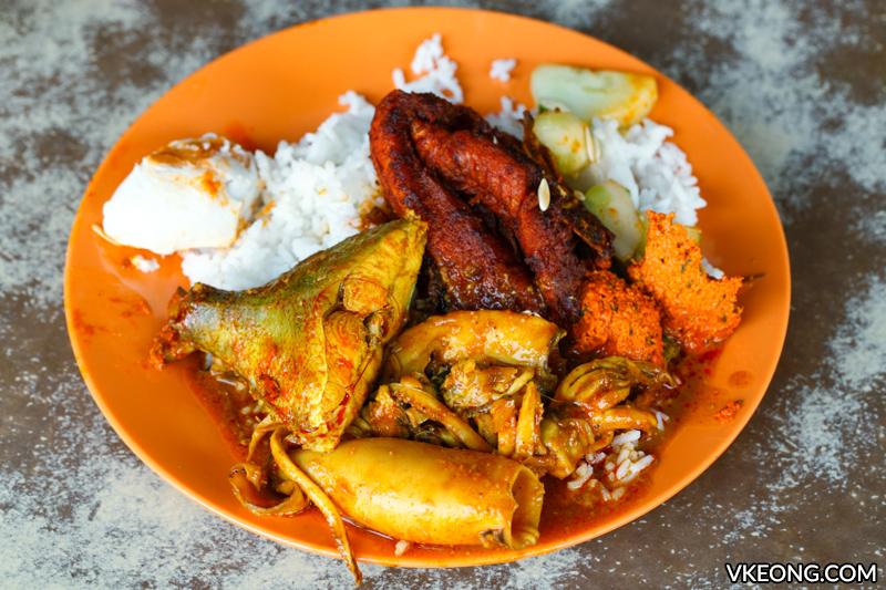 Nasi Kandar Yong Suan Nasi Ganja Ipoh - Ipoh Food