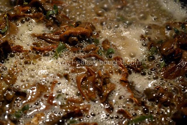 Filets Mignons aux Cèpes & Penne Rigate Gratinés © Ana Luthi Tous droits réservés  009