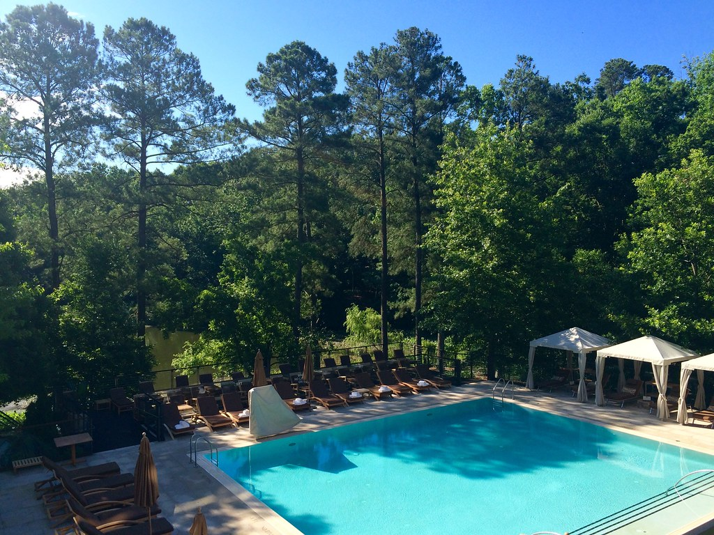 Pool Deck at the Umstead Hotel