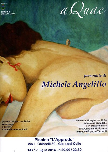 mostra aquae michele angelillo