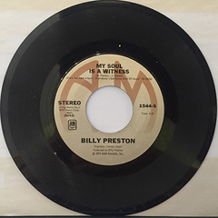 BILLY PRESTON:NOTHING FROM NOTHING(RECORD SIDE-B)