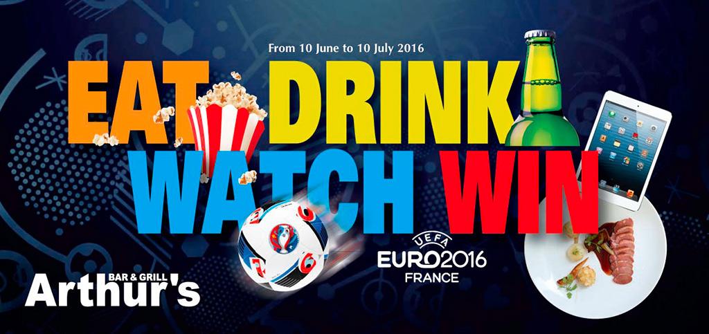 Euro 2016 Arthur's Bar Grill