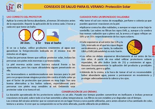 Consejos de Salud de Verano: Protección Solar Diapositiva2