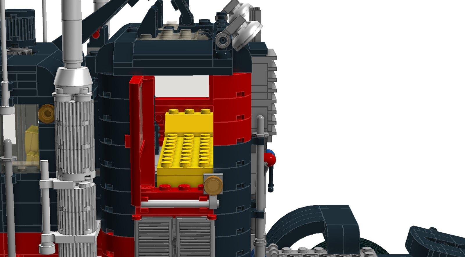 Ldd Moc Legacy Black Cat Truck Special Lego Themes Eurobricks
