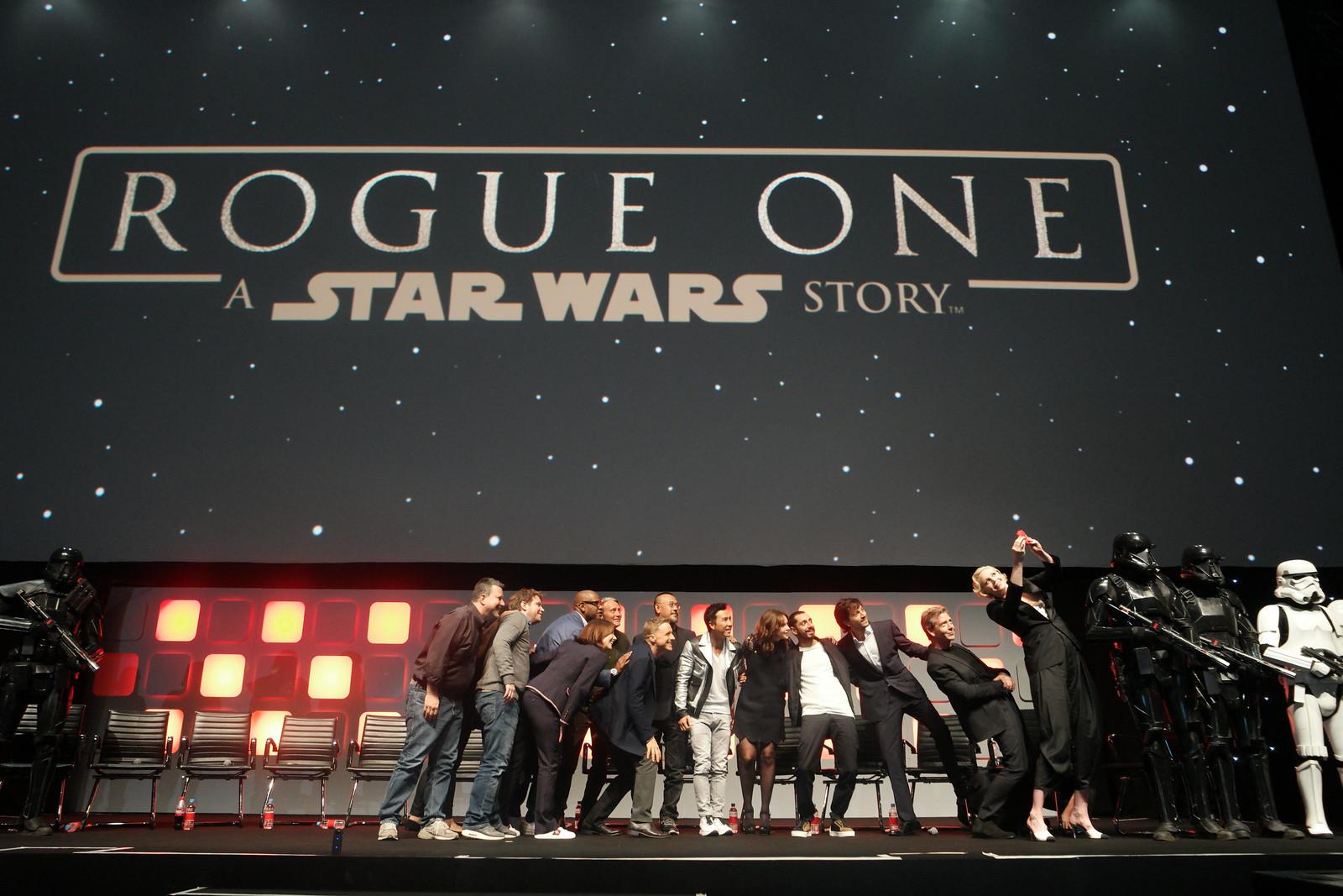Rogue One Panel - Star Wars Celebration London 2016