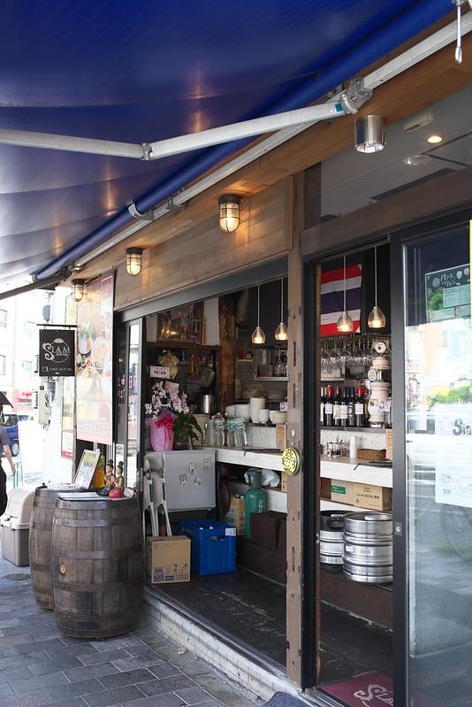 湯島のサイアム食堂でタイ料理 2016年8月7日
