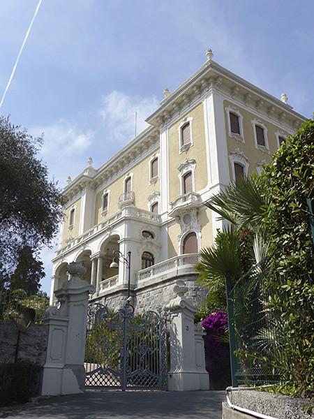 villa de la reine Marguerite