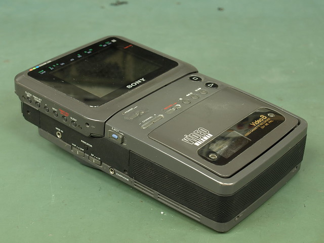 Sony GV-9E Video Walkman Teardown
