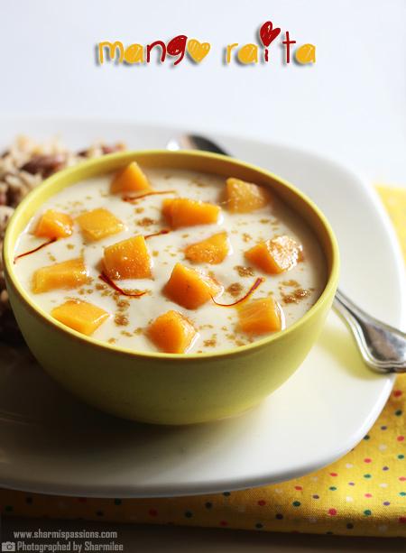 Mango Raita Recipe