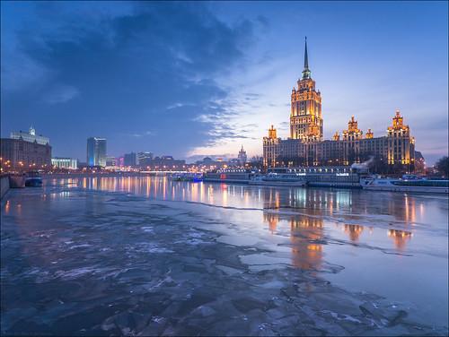 Демонтирована гостиница Россия