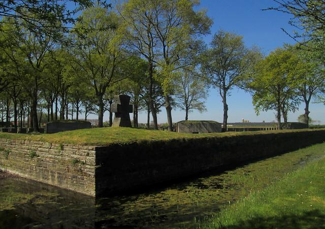 Langemark War Cemetery, Basalt Cross