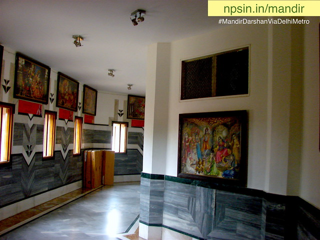 Parikrama Shri Krishna art gallery shows various aspects of the Hare Krishna movement, vedic philosophical and cultural heritage.