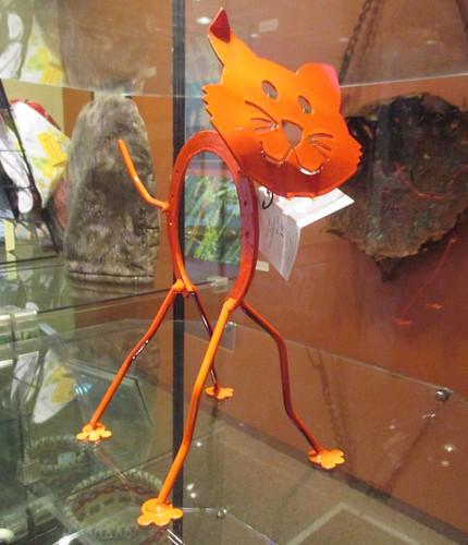 Welded cat #pei #summerside #eptekcentre #cats #heavymetal #ericschurman #catsofinstagram #caturday