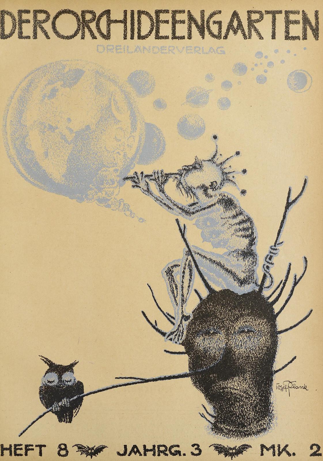 Der Orchideengarten - 1921 (Cover 8)