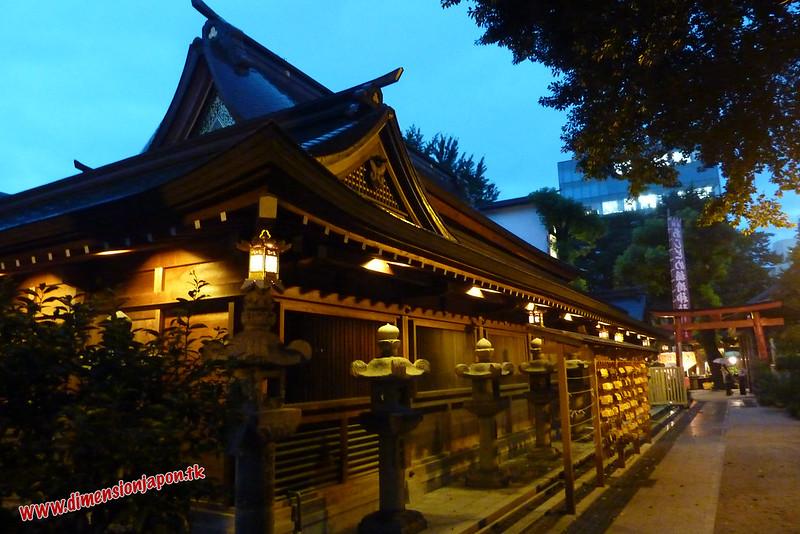 P1060788 Templo Kushida en festival (Fukuoka) 14-07-2010