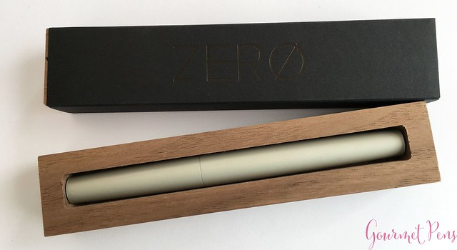 Quick Review @TrilogyPens Zero on @Kickstarter @KickstarterPens  2