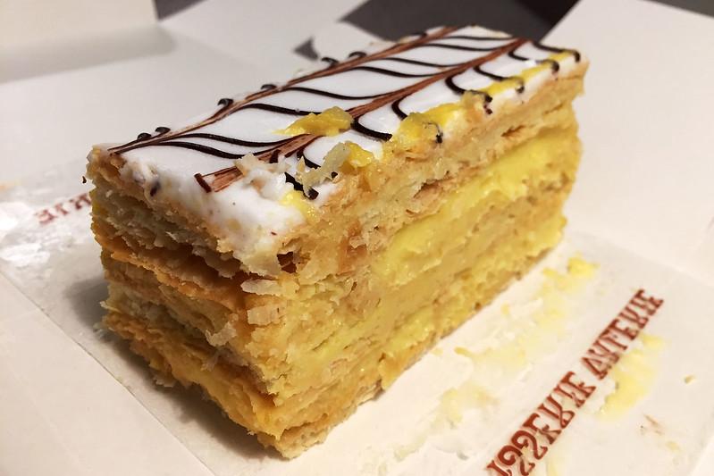 Vanilla slice, Patisserie Valerie